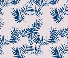 palm_light_pink fabric by holli_zollinger on Spoonflower - custom fabric