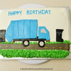 Amy's Confectionery Adventures: Garbage Truck Cake