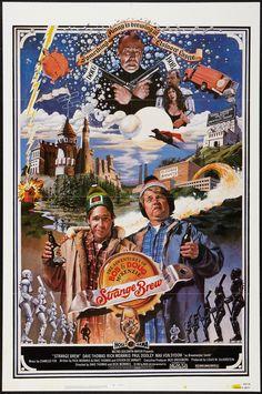 Strange Brew (1983)  Stars: Rick Moranis, Dave Thomas, Max von Sydow, Paul Dooley, Lynne Griffin,Angus MacInnes ~  Directors: Rick Moranis, Dave Thomas