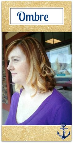 Ombre on medium length hair by Rachel at Restoration Beauty: an organic salon. www.restorationbeautygp.com