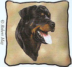 Pure Country 2352LS Rottweiler Pet Blanket Canine on Beige Background 54 by 54Inch * Want to know more, click on the image.