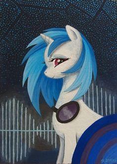 Vinyl Scratch My Little Pony 1, My Little Pony Friendship, Mlp Games, Vinyl Scratch, Mlp Fan Art, Princess Luna, Fluttershy, Spirit Animal, Ponies