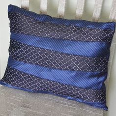 Necktie Pillow for Father's Day at Mom Spark - Dream a Little Bigger