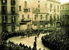 November 16, 1930: Translation of the body of Prof.Moscati into Gesù Nuovo church