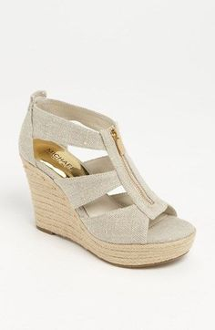 Super cute wedges by Michael Kors