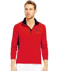 """Polo Ralph Lauren """"Rlx"""" Jersey Half-Zip Pullover"""