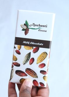 """This here is the """"Favourite"""" bean to bar. It's pure milk chocolate made with Trinitario beans, cane sugar, cocoa butter and vanilla beans only. No preservatives and only natural ingredients.   You won't be able to resist   #AschentiCocoa #healthyfood  #supportlocal #BeantoBar   #Manitoba #winnipeg #onlyinthepeg"""