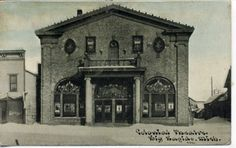 Vintage Postcard Big Rapids Michigan Colonial Theatre |