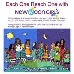 Join Each One Reach One & post the special images for profile/cover photo,etc for Aug. Girls helping girls. http://on.fb.me/N6NB4D