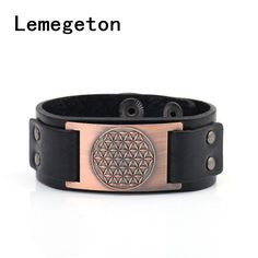 Find More Charm Bracelets Information about Lemegeton Religious Antique Gothic Flower of Life Sigil Enochian Amulet Mixed Color Leather Charm Hidden Clasp Men Bracelet,High Quality men bracelet,China leather charm Suppliers, Cheap bracelet bracelet from Yiwu Bichuang Jewelry Factory on Aliexpress.com