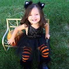 Here Kitty Kitty!!   Our Glam Kitty Cat Costume is so adorable!! Order it here: http://www.bellethreads.com/products/glam-kitty-cat-sparkle-romper