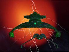 Klingon Battle Cruiser & Bird of Prey - The Klingons are coming by jaguarry3