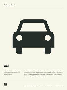 The Human Project Poster (Car) in Grid