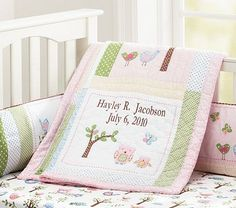 Hayley Nursery Bedding #pbkids