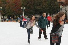 """""""It's been a process,"""" one skating rink manager said of staying open during December's warm weather."""