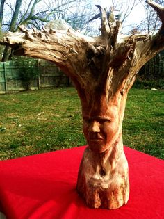 Root Warrior by WoodenHahn on Etsy, $230.00