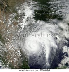 Tropical storm Harvey.