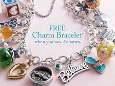 Buy 2 Charms, Get $49 Off Any Charm Bracelet! #jamesavery