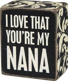 Nana Block $7.95