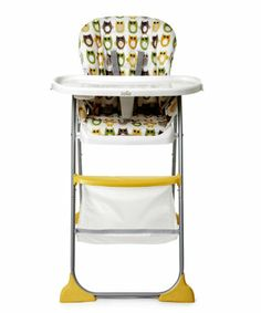 Joie Mimzy Snacker Highchair - Owls - highchairs - Mothercare £49.99