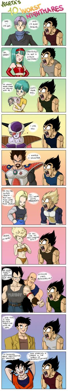 Funniest thing ever XD especially the Frieza one.