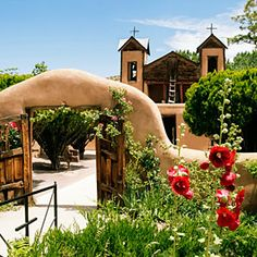 El Santuario de Chimayó. New Mexico road trip: Haute route... Santa Fe, Taos, ojo caliente.