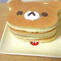 what a cute breakfast!!!! Little bear