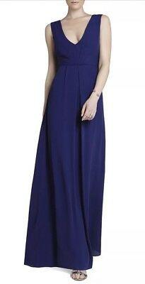 BCBGENERATION Casual Stretch Knit Maxi Dress sizes XS MEDIUM LARGE Leg Slits