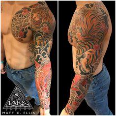 #LarkTattoo #MattEllis #MattEllisTattoo #Tattoo #Tattoos #ColorTattoo #Japanese #JapaneseTattoo #Tiger #TigerTattoo #Koi #KoiTattoo #JapaneseTiger #JapaneseTigerTattoo #JapaneseKoi  #JapaneseKoiTattoo #FingerWaves #FingerWavesTattoo #ChestTattoo #SleeveTattoo #FullSleeve #FullSleeveTattoo #TattooArtist #Tattoist #Tattooer #LongIslandTattooArtist #LongIslandTattooer #LongIslandTattoo #TattooOfTheDay #Tat #Tats #Tatts #Tatted #Inked #Ink #TattooInk #AmazingInk #AmazingTattoo #BodyArt Lark Tattoo, S Tattoo, Chest Tattoo, Color Tattoo, Sleeve Tattoos, Matt Ellis, Japanese Tiger Tattoo, Japanese Koi, Tattoo Artists