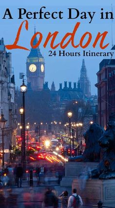 24 hours in London Itinerary. Travel tips for a day in London, what to do and see from historical attractions to parks, museums and nightlife. Plus where to stay in London for a day and how to get around. The perfect London itinerary for first-timers.  #London #24inLondon #LondonFirstTime #LondonThingstodo #LondoninaDay #OneDayinLondon via @loveandroad