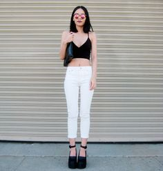 street style cropped