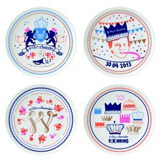 Royal Ceramics - Crowning Willem Alexander 30.04.13 design by Studio Sjoesjoe