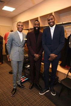 Westbrook, Harden, & Durant. All-Star week 2015