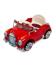 Another great find on #zulily! Cruisin' Coupe Classic Car Ride-On #zulilyfinds