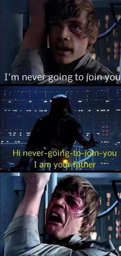 Darth Vader Dad Joke//Star Wars Episode V: The Empire Strikes Back (1980)
