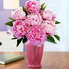 Assorted Pink Peonies and other flowers & plants at ProFlowers.com