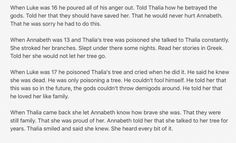 Thalia, Annabeth, and Luke part 2