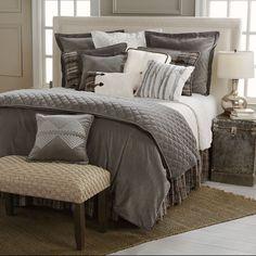 LG1895 Whistler Comforter Set #MasterBedrooms