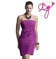 Avon: mark Rock the Ruffles Dress Sexy Summer Dresses, Cute Dresses, Formal Dresses, Avon Fashion, Fashion Beauty, Purple Dress, Fashion Boutique, Ruffles, Strapless Dress