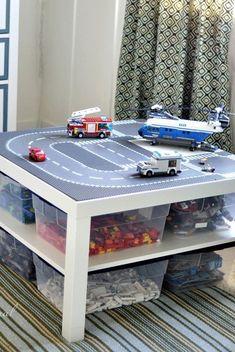 30 Genius Toy Storage Ideas For Your Kid's Room - DIY Kids Bedroom Orga. 30 Genius Toy Storage Ideas For Your Kid's Room - DIY Kids Bedroom Orga. Toy Storage Solutions, Diy Toy Storage, Kids Storage, Storage Ideas, Storage Bins, Record Storage, Smart Storage, Kids Bedroom Organization, Organization Ideas