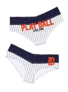 Detroit Tigers Perfect Pink Hipster Panty - Victoria's Secret Pink® - Victoria's Secret.  Love; too bad they're out of my size!