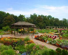 Cantigny Gardens has an AGA display in the Idea Garden Herb Garden, Garden Art, Garden Ideas, Garden Waterfall, Sensory Garden, Formal Gardens, Public Garden, Garden Inspiration, Botanical Gardens