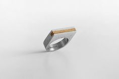 CONCRETE RING jewelry (Gravelli.com) by Tomas Vacek, via Behance
