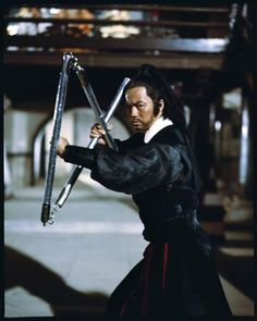 "Ti Lung stars as Black Eagle Chi Min Sing in ""Avenging Eagle. Kung Fu Martial Arts, Martial Arts Movies, Martial Artists, Action Pose Reference, Action Poses, Hk Movie, Bo Staff, Avatar Picture, Kung Fu Movies"