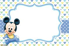 Nice FREE Printable Mickey Mouse Invitations - Exclusive Selection