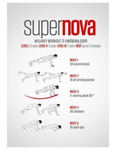 1-23-15: Reps: 3.5 Today I did the super nova again, and was able to get through it 3.5 times. I substituted pull-ups foe the rotating/moving plank, and liked this modification because the non modified workout does not do much to work the arms.