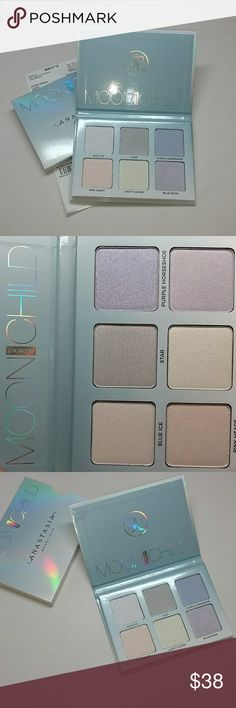 ABH glow kit ~ Moon Child Anastasia Beverly hills glow kit amoon Child . Metallic powder highlighter for luminosity. Where alone or later colors. New with box never tested or used. No trades. Anastasia Beverly Hills Makeup Luminizer