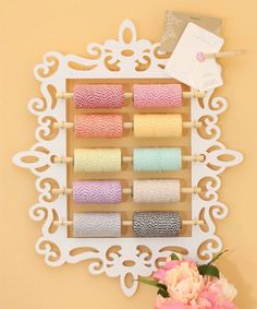 Image result for craft wall organization