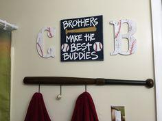 Boys Baseball Bathroom
