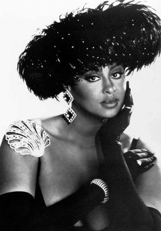 Magnificent vocalist performer and person Phyllis Hyman - gone too soon.